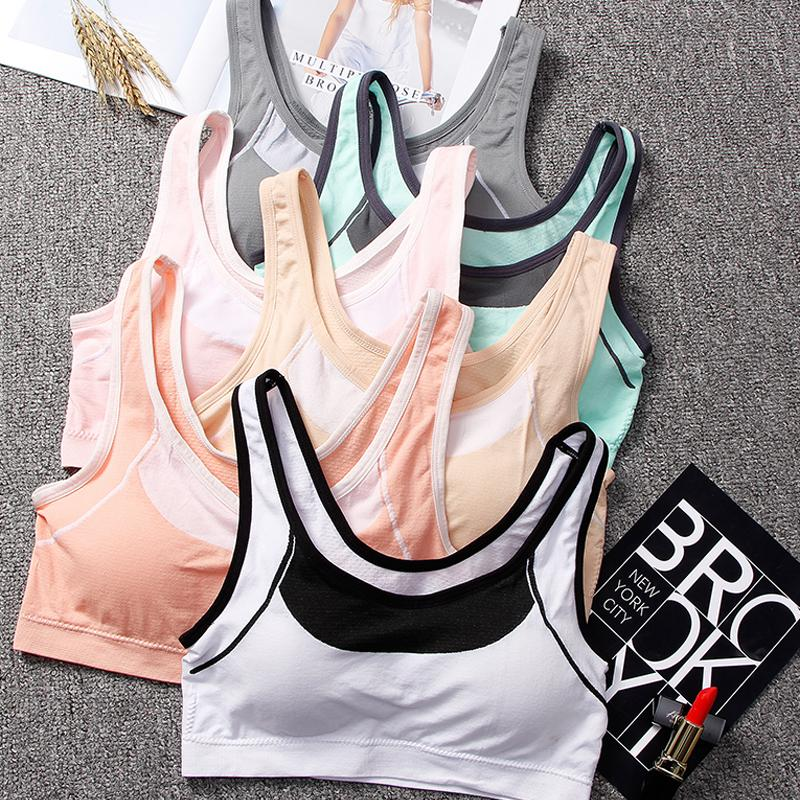 1373ee6cb 2019 Women Yoga Sports Bra Push Up Stretch Workout Tank Top Short Running  Sport Bra Top Sports T Shirt For Fitness Underwear From Baibuju