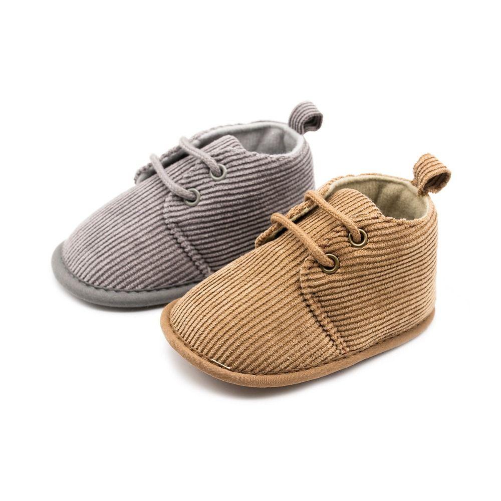 best website fff8c 4e50a Moda Baby Boys Sneakers Scarpe culla Calzature Solid Soft Suola Prima  Walker Neonato Infantile Prewalkers Presepe Scarpa 0-12 M