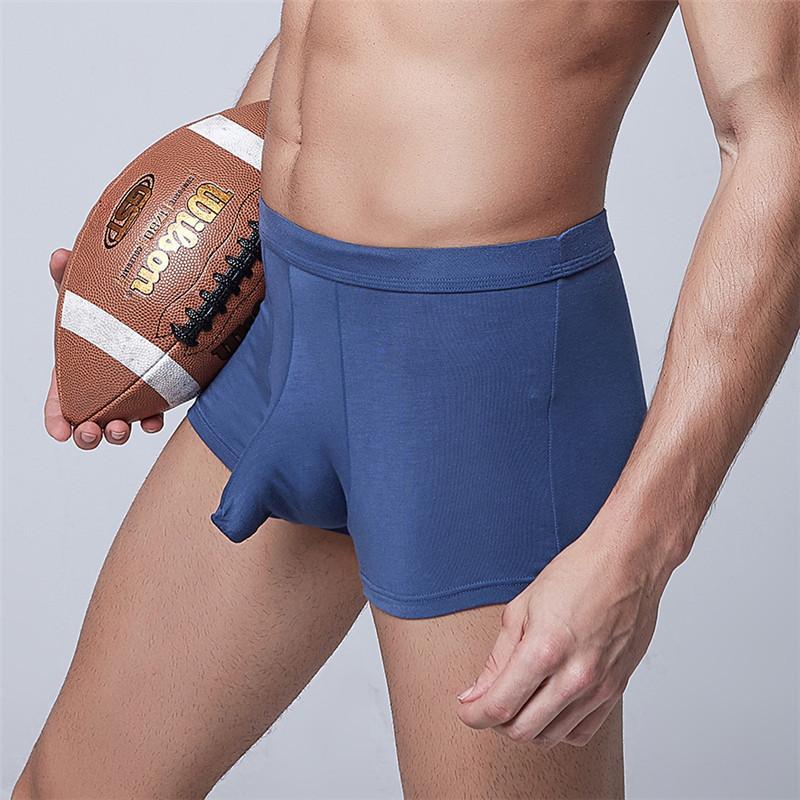 eba98fa5b Compre Marca Boxer Shorts Elefante Dos Homens Cuecas Masculinas Calcinhas  Dos Homens Sexy Penis Pênis Boxers Manga Pênis Troncos Homossexuais Modal  Cuecas ...