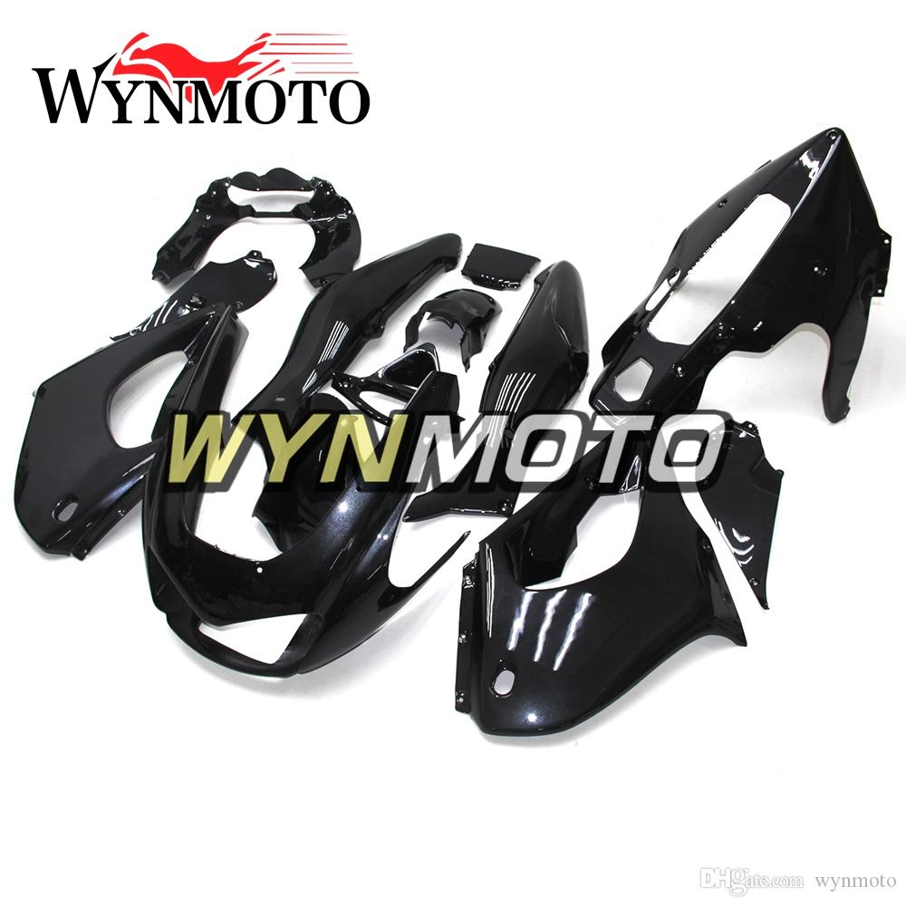 Full Body Kits Motorcycle ABS Fairings For Yamaha YZF1000R Thunderace 1997 - 2007 98 99 04 05 06 Injection Cowling Gloss Pure Black Bodywork