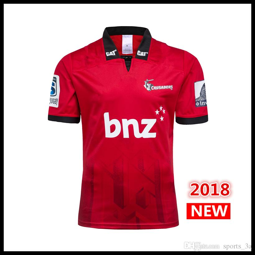 bb79abbc3e8 2019 2018 2019 Maillot New Zealand Super Rugby Jerseys Crusaders Home Jersey  18 19 Rugby League Adults Mens Crusaders Rugby Shirts S 3XL From Sports_3a,  ...