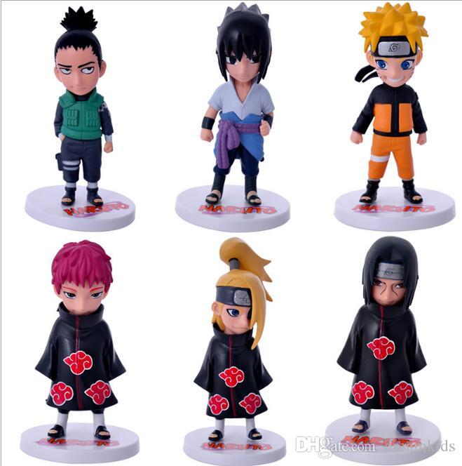 / Naruto Abbildung Serie Spielzeug Itachi Gaara Kakashi Shikamaru Sasuke Minato Neji Schmerz Deidara Sasori Mini Modell Dolls
