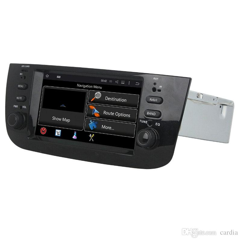 Автомобильный DVD-плеер для Fiat LINEA 2015 6.1 inch Andriod 6.0 с GPS, рулевым колесом, Bluetooth, радио,2 ГБ оперативной памяти