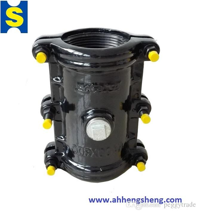 pipe clamp for straight section of Ductile iron pipelines pipe repair  clamp,repair sleeve, coupling, fittings, water leak stopper