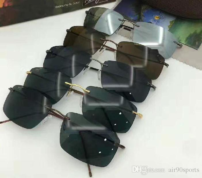 0e2ec7053aa Luxury Brand Designer Maui Jim 715 Hookipa Sunglasses MJ715 Men ...