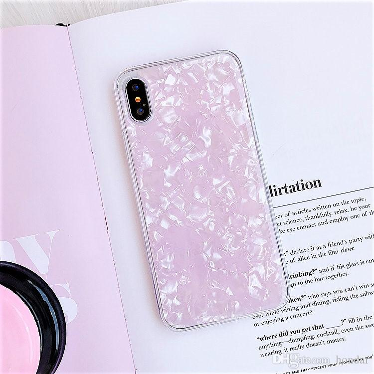 2018 factory sale for iphone 6 plus case lady style marble shell