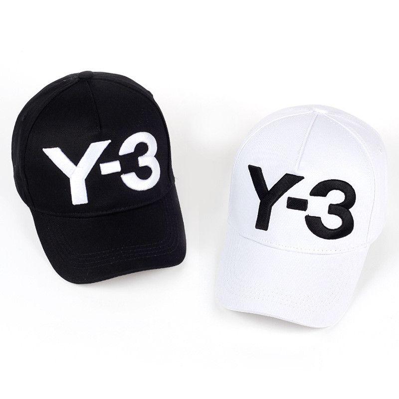 Compre Moda Y 3 Sombrero Y3 Gorra De Béisbol Para Mujer Para Hombre Carta  Gorras Sombreros De Bola Blanca Y Negra Para Mujer Hombre Mujer Hombre  Snapback ... 31e496ef954