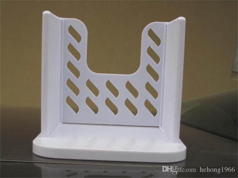 Kek Kesici Plastik Yaratıcı Faydalı Tost Dilimleme Beyaz Delaminasyon Ekmek Dilimleme Cihazı Pişirme Kalıp Mutfak Aletleri Yüksek Kalite 4 5tt Z