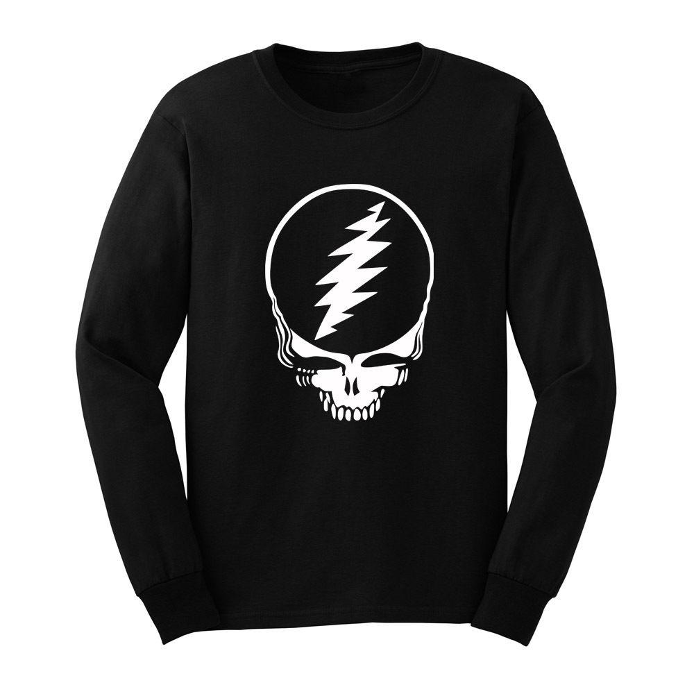 2d374877d5b Loo Show Mens Grateful Dead Steal Your Face Long Sleeve T Shirts Casual Men  Tee Cheap T Shirts For Sale Online One Day Only T Shirts From Banwanyue3,  ...