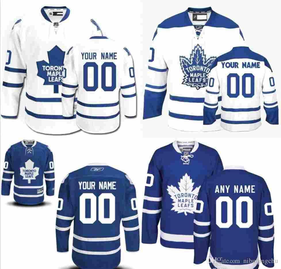 9d20cf32327 ... usa 2018 2016 customized mens toronto maple leafs custom any name any  number ice hockey jerseyauthentic