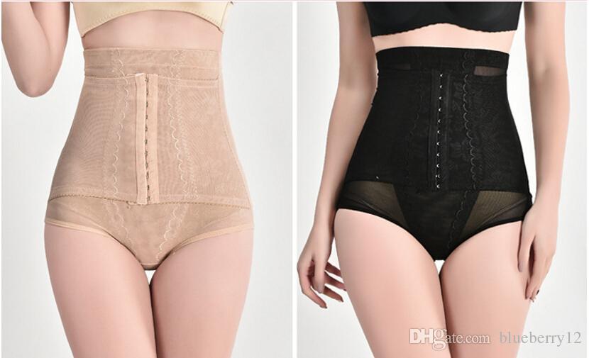 Kadın Zayıflama Kontrol Külot Siyah Yüksek Bel Sıkılaştırıcı Korseler Vücut Pantolon Kaldırma Kalça Dantel Iç Çamaşırı Kadın Pantolon