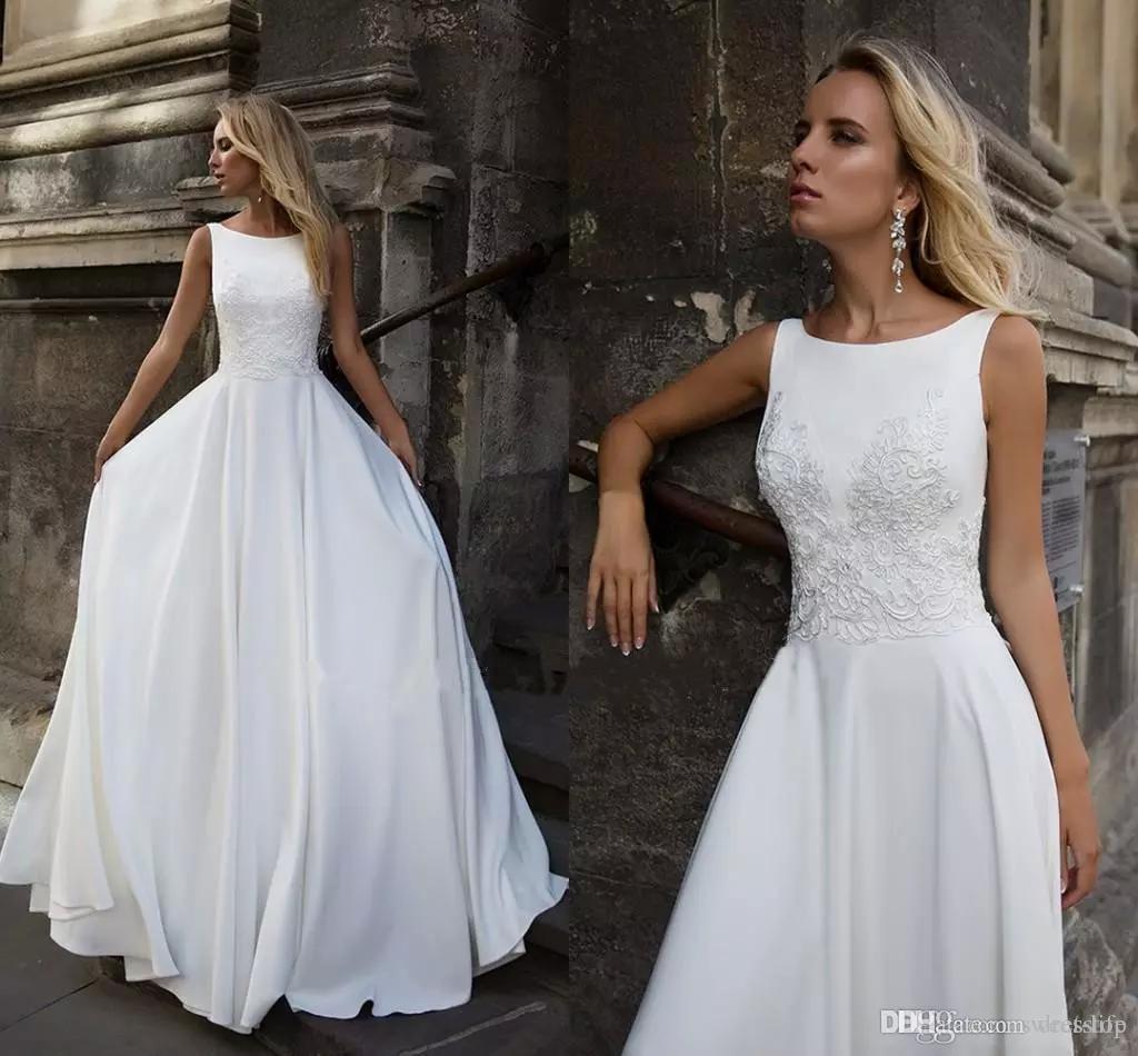Discount 2019 Milla Nova A Line Wedding Dresses Bateau