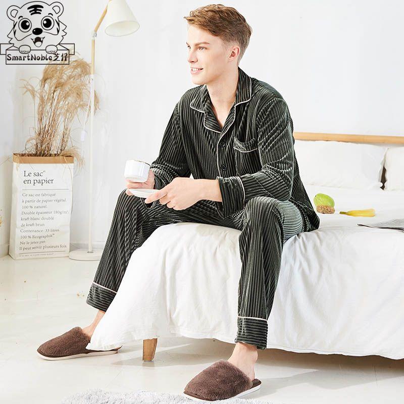 Smart 2019 Summer 100% Cotton Long Pyjamas Men Full Sleeves Sleepwear Japanese Kimono Pajamas Sets Shorts Homewear Underwear & Sleepwears