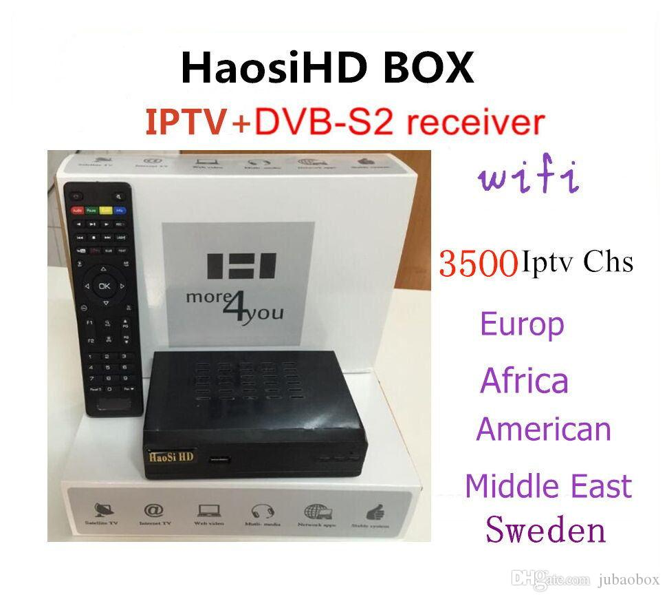 Haosihd decodeur canal gratuit R1 Europe iptv subscription 1 year live and  VOD free 3500 chs support youtube