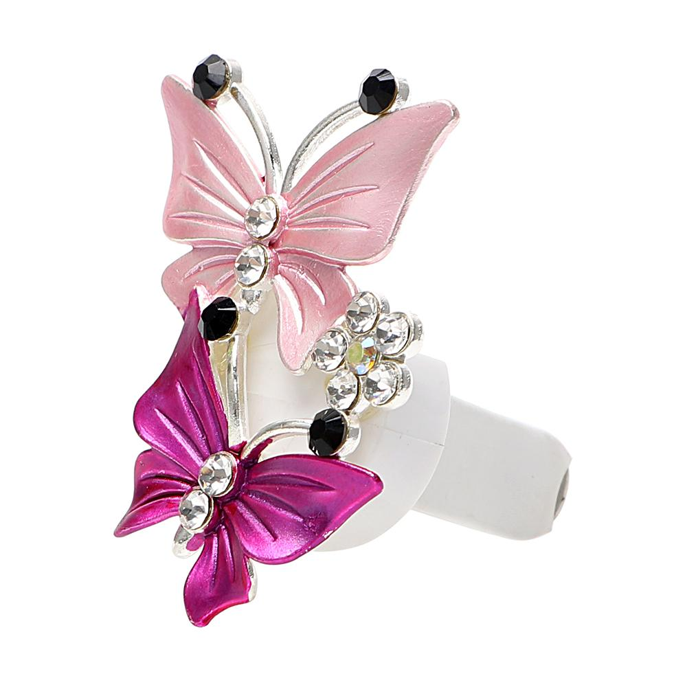 Car Perfume Decoration Fragrance Natural Smell Air Freshener Auto Accessories Car-styling Butterfly Air Conditioner Outlet Clip