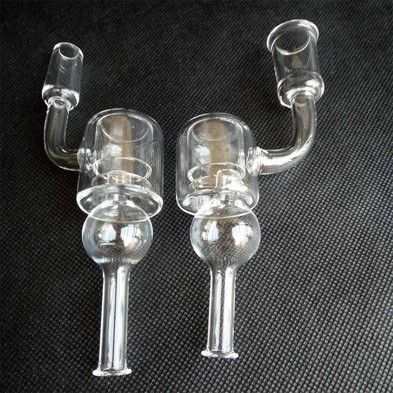 Set XXL Quartz Thermal Banger Bubble Tubos de fumar com CARB CAP 10/14 / 18mm Dobrinhos Dobrinhos Dicas P para Hookahs Vidro Dólar Bongs