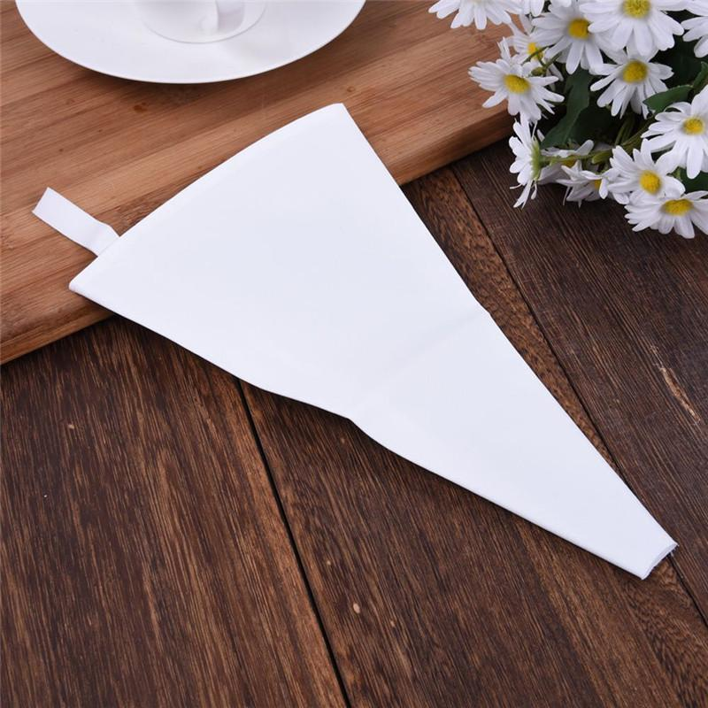 3 Size Eco-Friendly Cotton Cream Pastry Icing Bag Baking Cooking Cake Tools Piping Bag Kitchen Accessories Drop Shipping