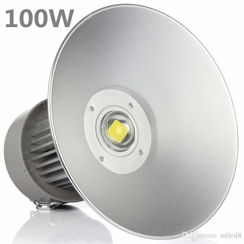 LED 높은 베이 조명 산업 85-265V 50W 100W 150W 200W는 통 역 주도 캐노피 조명 조명 불빛 아래 투광 조명 주도 승인 됨