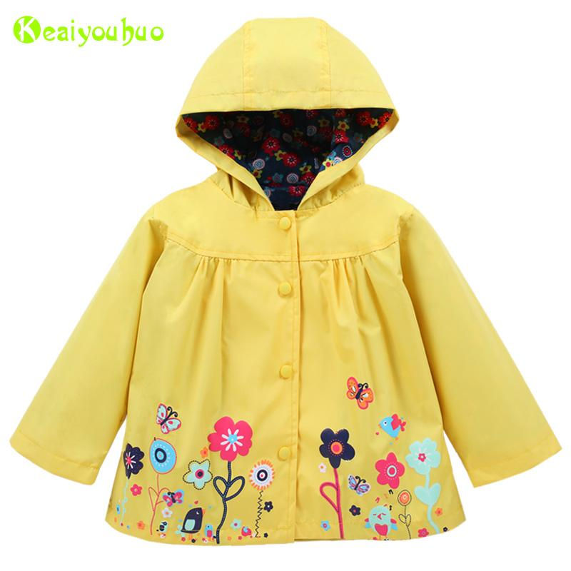 a11f67509325 KEAIYOUHUO Infant Girls Coat For Girls Jacket 2018 Spring Baby ...