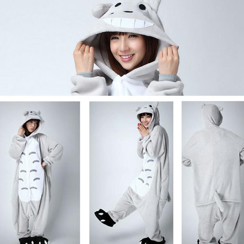 2019 Hot Wholesale Unisex Hoodie Adult Totoro Pajama Sets Women Pajamas  Cartoon Animal Unicorn Frog Pajama Sets Sleepwear Flannel From Longmian 5d43a307a