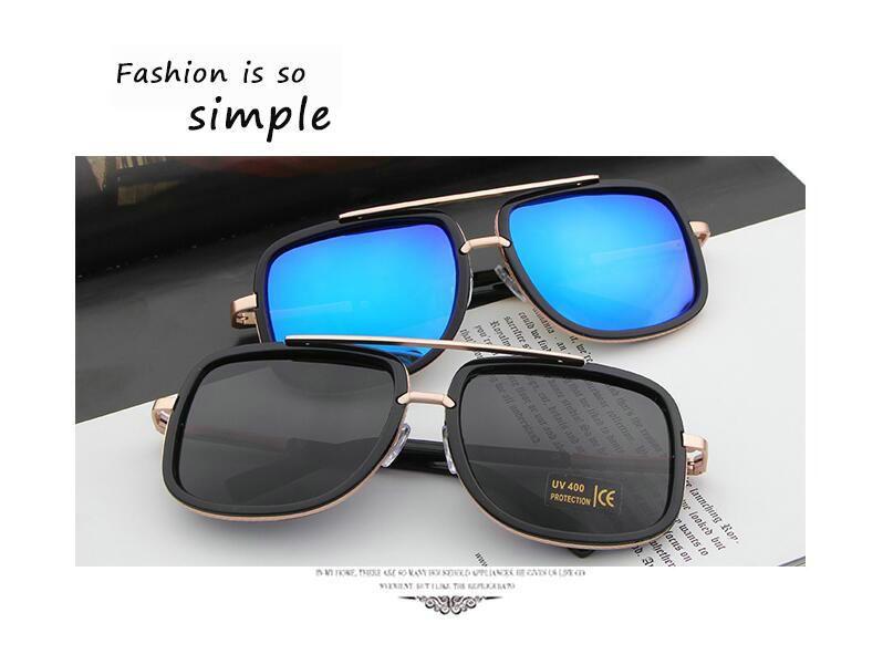 a4b0801de485 Hot Sale Fashion Sunglasses Men And Women Couple Sunglasses Beach Sunglasses  With Glasses Box