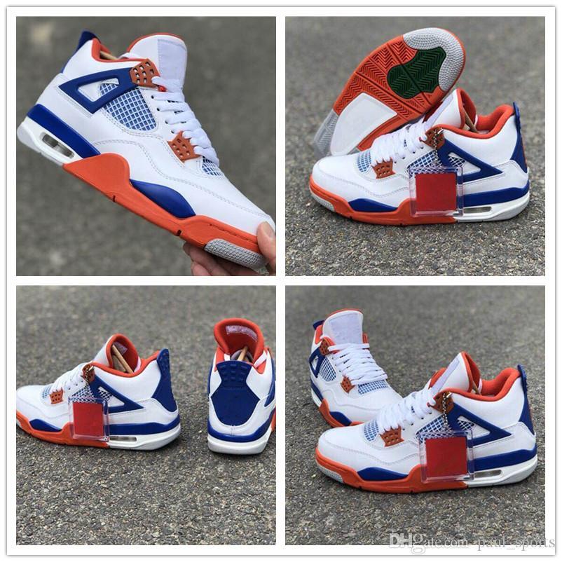 6c1bad864d7 2018 Cheap Sale Jumpman IX 4 White Blue Orange Red Basketball Shoes ...