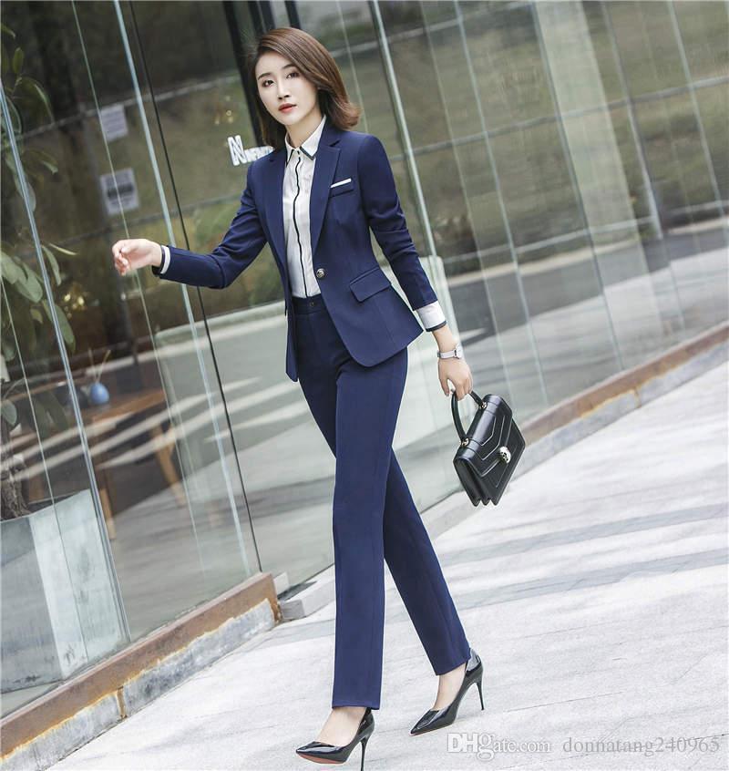Office Uniform Designs Women Skirt Suit 2017 Ladies Professional Formal Business Womens Suits Blazer with Skirts Jacket Set