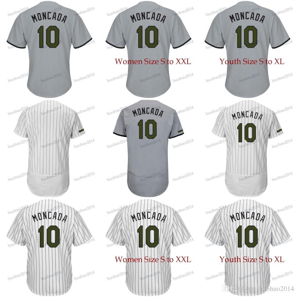 9979bcb20ae 2019 Custom  10 Yoan Moncada Jersey 2018 Memorial Day Baseball Jerseys Men  Women Youth All Stitched Baseball Jersey From Huohuo2014