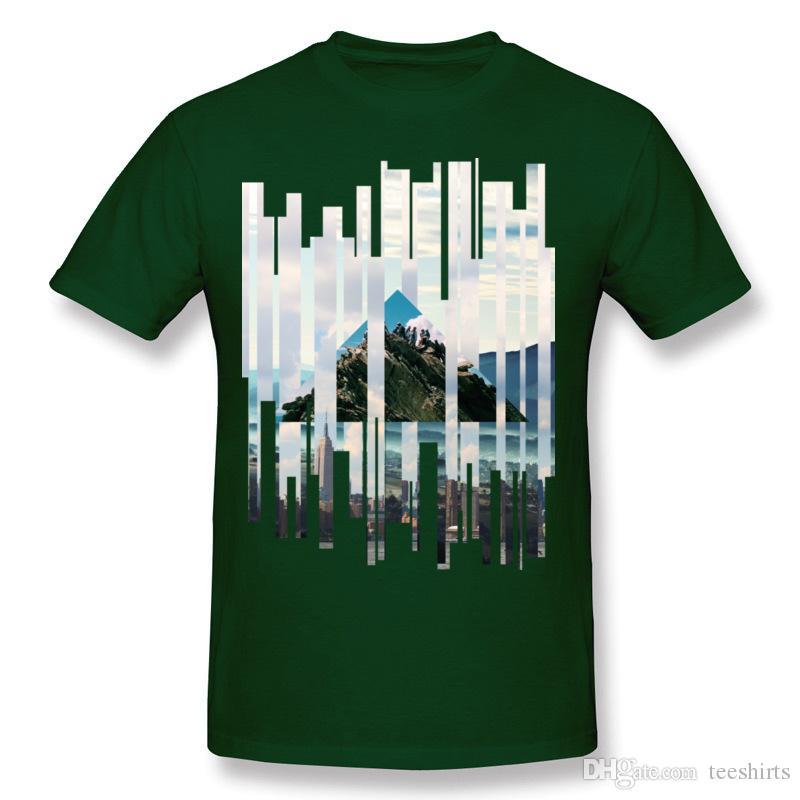 Ucuz Homme Saf pamuk Yükselişi Adam T Shirt Homme Ekip Boyun Kırmızı Kısa Kollu T Shirt 6XL Aile T Shirt