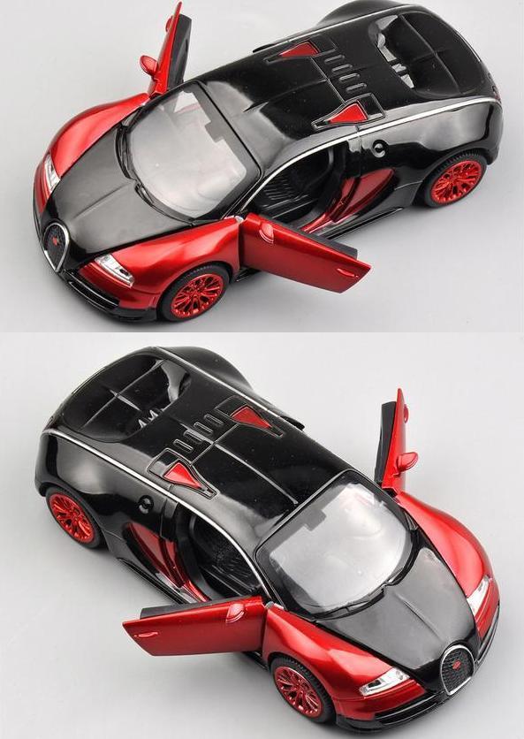 2019 Double Horses 1 32 Scale Bugatti Veyron Alloy Diecast Car Model