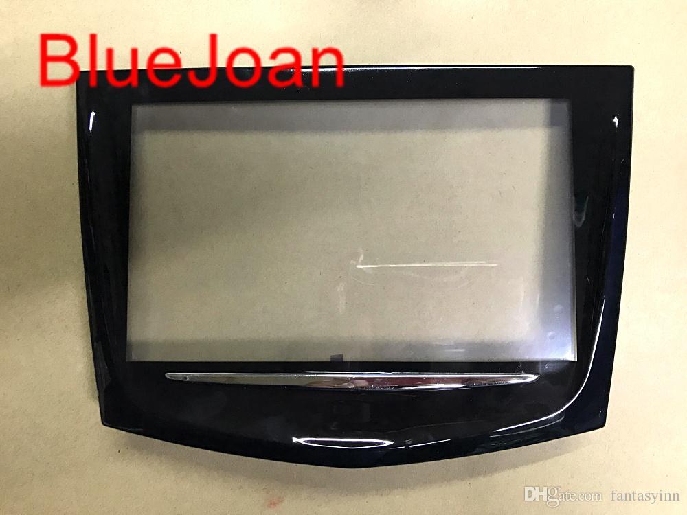 무료 DHL 운송 캐딜락 큐 CTS SRX XTS 자동차 DVD GPS 네비게이션 LCD 패널 터치 디스플레이 디지타이저를위한 새로운 브랜드 터치 스크린 사용