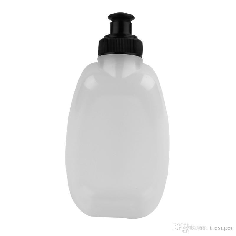 250 ml Kapazität Tragbare PE / PP Laufen Joggen Sport Wasserflasche für Taille Gürteltasche MTB Radfahren Fahrrad Wasserflasche
