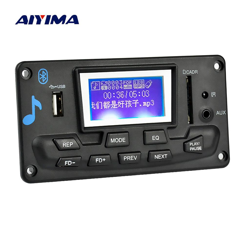 Fm Radio Module Mp3 Player Geek Tattoos Circuit Board Pcb With View Aiyima 12v Lcd Bluetooth Decoder Wav Wma Decoding Audio Support