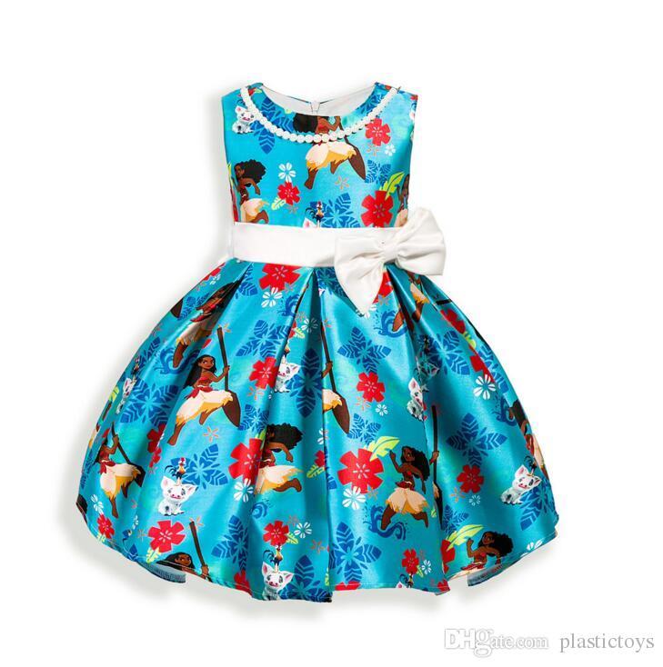 6647118e3a72 2019 Female Princess Dress Girl Skirt Spring And Summer Mesh Embroidered  Girls Dress New Baby Girl Sleeveless Pearl Kids Skirt Dress Skirt From  Plastictoys, ...