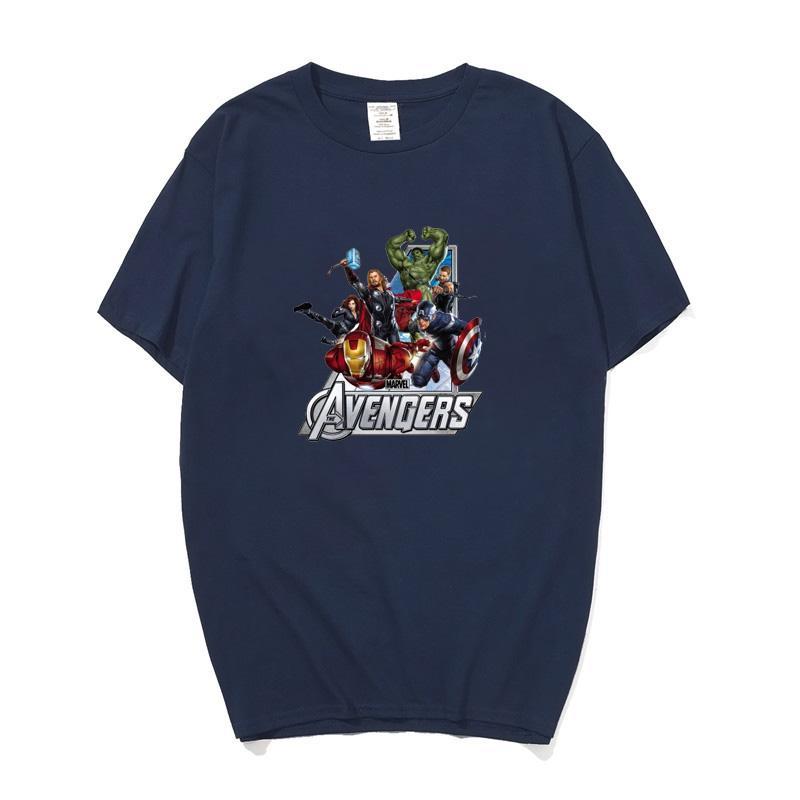 cc80a63dea4c9 Acheter Marvel The Avengers Iron Man Hulk Captain America Hawkeye Veuve  Noire Thor T Shirt Pour Hommes Femmes Garçons Enfants T Shirt De $24.2 Du  Geshstore ...