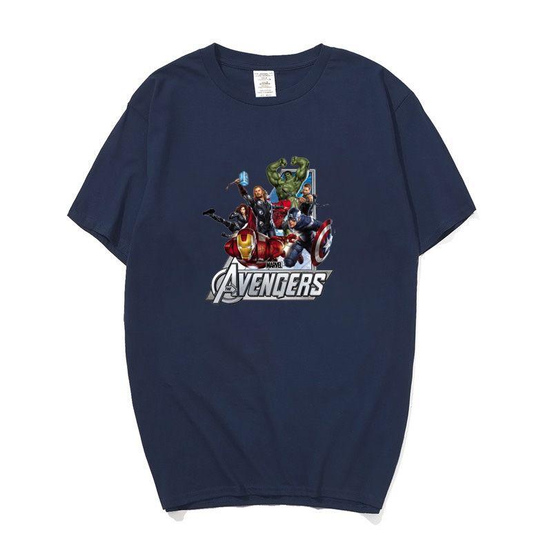 624e4880db1 Compre Marvel The Avengers Superhéroe Iron Man Hulk Capitán América Hawkeye  Viuda Negra Thor Camiseta Para Hombres Mujeres Niños Niños Camiseta A $24.2  Del ...