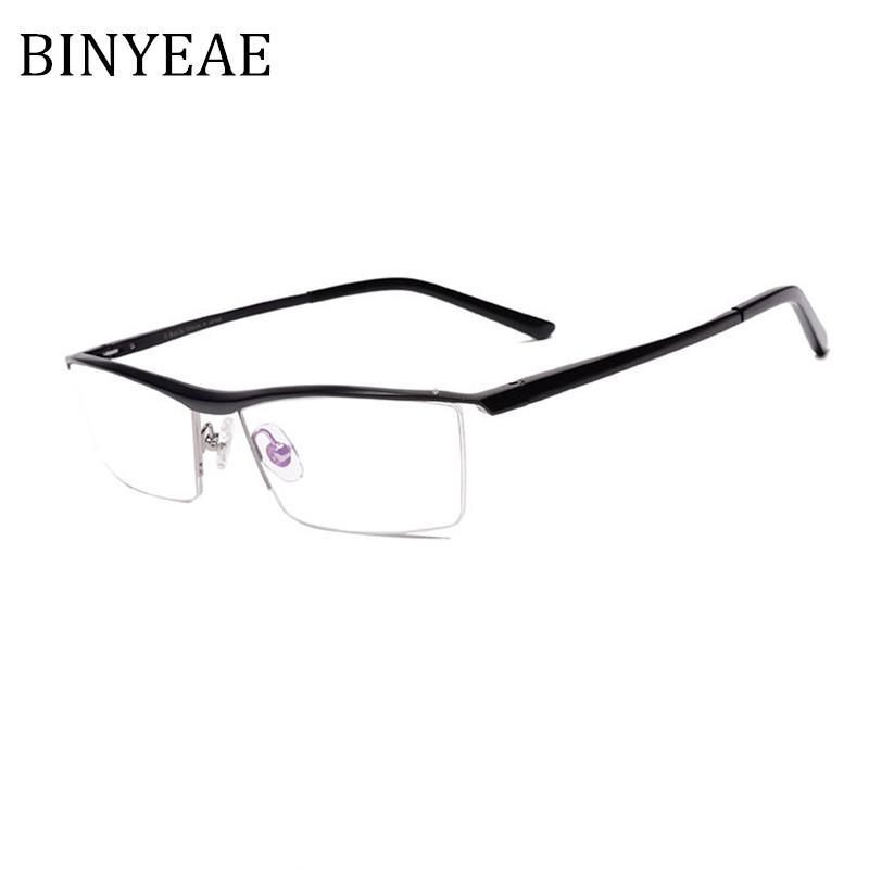 1bee620c9f5b 2019 BINYEAE Brand Prescription Glasses Frames Aluminium Magnesium Alloy  Frame Spectacle Eyeglasses Myopia Glasses From Fengyune