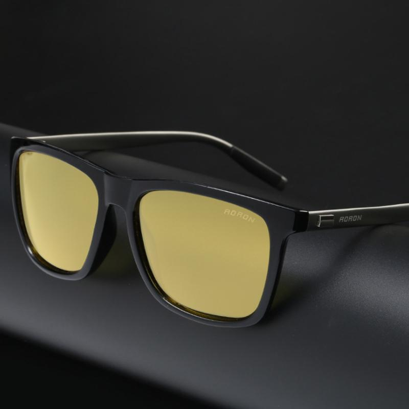 e0e3d3cd257 Yok S New Polarized Night Vision Sunglasses Men Yellow Rectangle Aluminium  Sun Glasses Driving Goggle Retro Fashion Eyewear For Male HN011 Discount ...