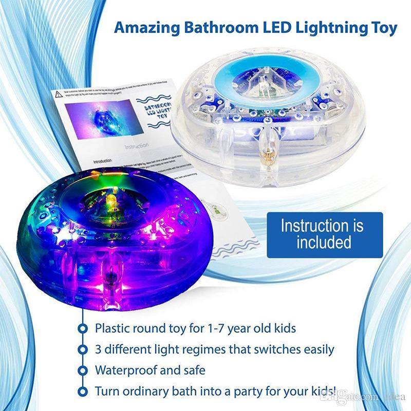 2018 Led Bath Toys Party In The Tub Light Waterproof Funny Bathroom ...