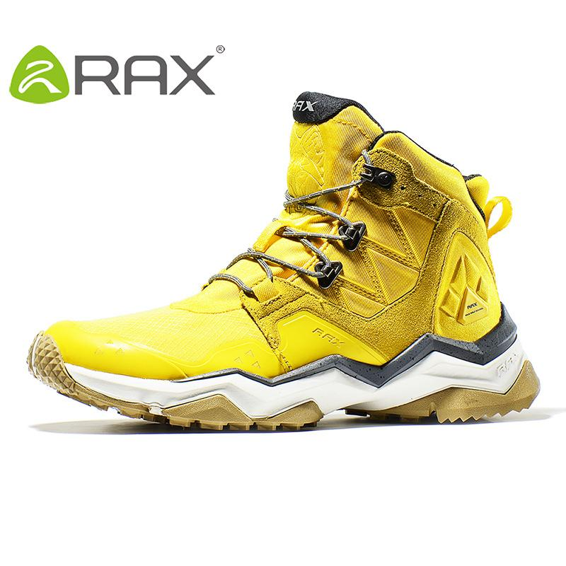 60b5512a0f8 Rax Men Hiking Boots Waterproof Outdoor Sports Sneakers for Women  Lightweight Trekking Shoes Mid-top Mountain Boots Tourism Shoe