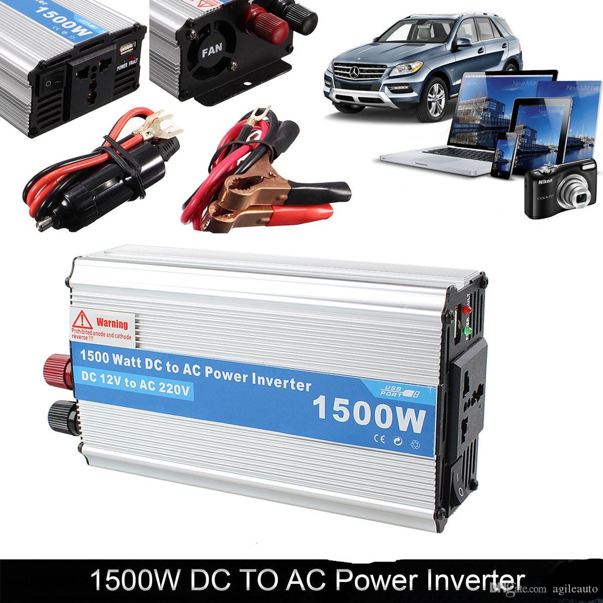 Convertitore da 150W DC 12V a CA 220V Convertitore di carica auto prodotti elettronici CEC_61L