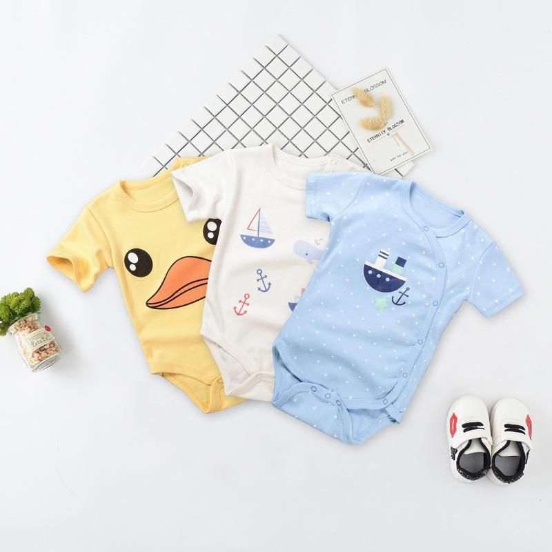 3beb6d54e 2018 New Pattern Ins Children s Garment Baby Triangle Lin Tai Ha ...
