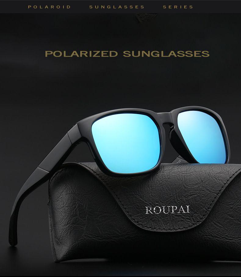 Compre Alta Qualidade Óculos De Sol Uv400 Homem Polarized Sunglass Lente De  Equitação Polarized Óculos De Sol 6 Cores Para Opções Com Embalagem 0942 De  ... 391f00fde5