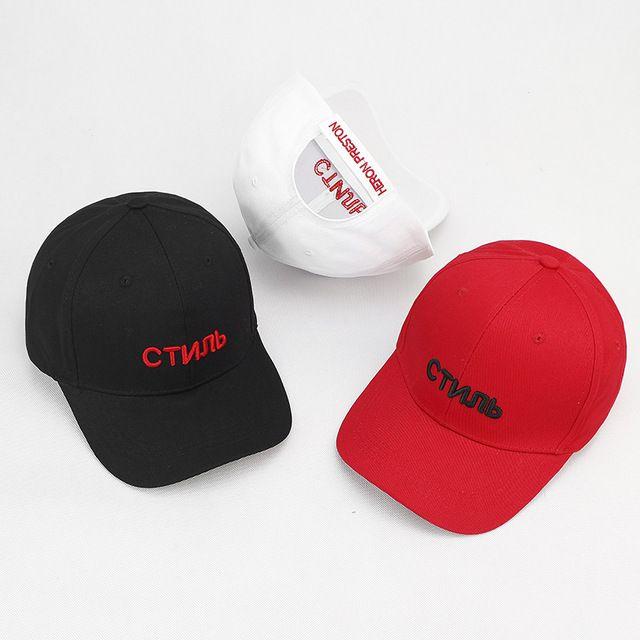 Russian Heron Preston Baseball Cap New Fashion Men Women Leeter Hats ... c28c39bfd996