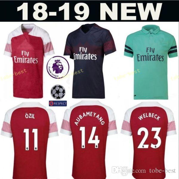 580b7df50 ... get 2018 18 19 season men soccer jersey arsenal fc premier league 14  henry 10 bergkamp