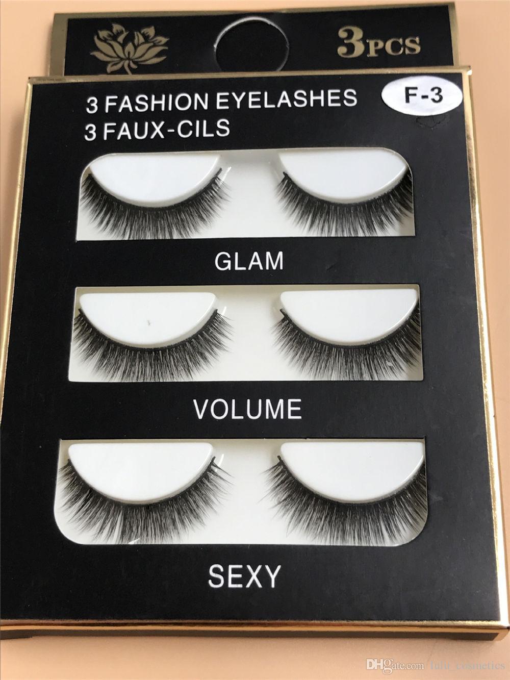 e2423c16968 Mink Eyelashes Natural Long Eyelashes 10mm Handmade False Lashes ...
