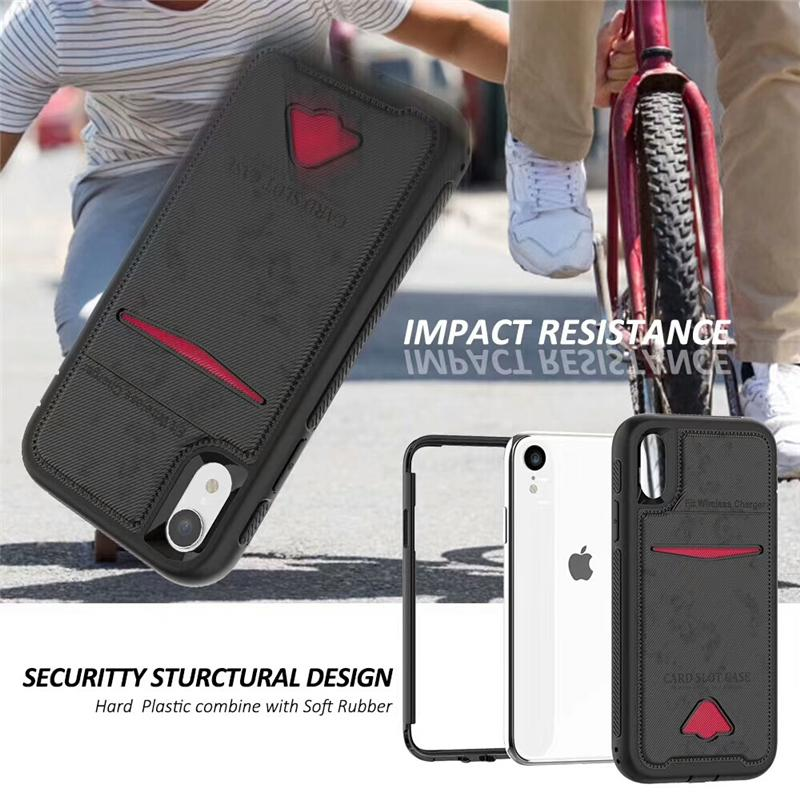 Für iphone X XS 9 8 7 6 plus 2 in 1 Magnetic Magnet Wallet card cover Leder pu case Cover iphone 8 Samsung S9 note