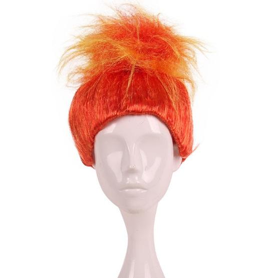 Magic elves Fluffy wigs Adult Size Troll flame COS wig factory direct selling Halloween wigs Free ship DHL