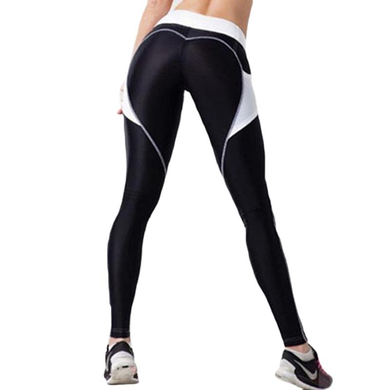 590f7acdb9e982 2019 Heart Leggings Fashion Women Fitness Workout Sporting Pants Breathable Elastic  Waist Gyming Exercise Clothing For Women Online with $34.61/Piece on ...