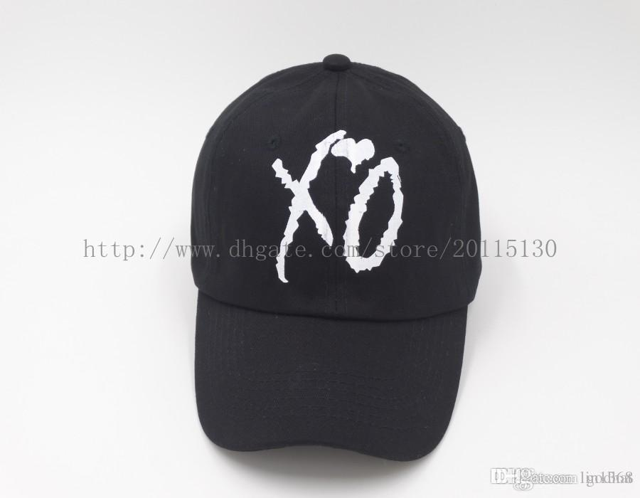 XO Custom Unstructured Black Dad Hat Cap Fashion Hat Leisure Hat CASQUETTE  Hats Abel New Cap Hat From Godhat 55578d322593